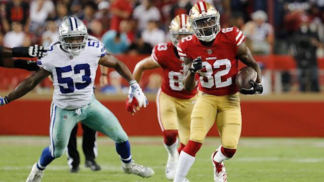 <p>During Thursday's exhibition opener, we gained a little clarity on a seventh-round wide receiver, a rookie defensive end and the backup running back job.</p>