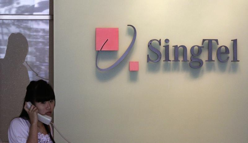 To match Reuters Interview story SINGTEL/