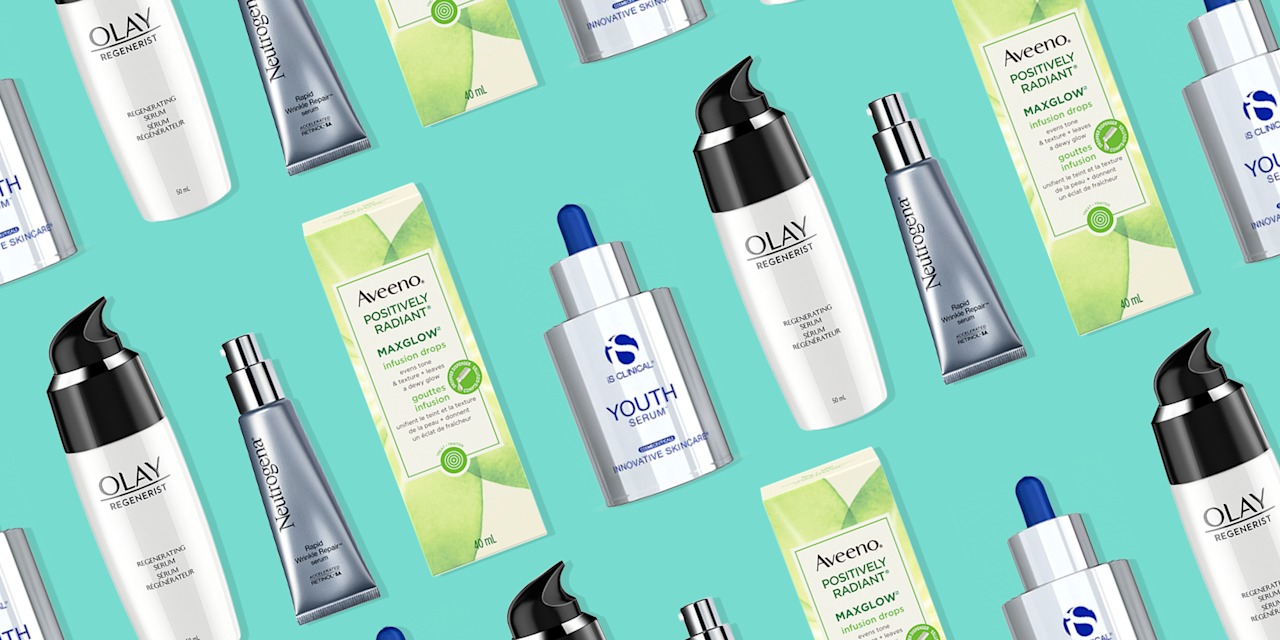 """<p>So you're doing everything right—washing your face, <a href=""""https://www.oprahmag.com/beauty/skin-makeup/g27440380/best-drugstore-moisturizer/"""" target=""""_blank"""">moisturizing</a>, <a href=""""https://www.oprahmag.com/beauty/g27130592/best-moisturizer-with-spf/"""" target=""""_blank"""">using SPF</a>, you name it—but your skin still looks dull and tired. A hyaluronic serum may be just the thing you need to bring back that coveted summer glow, even when there's no sun in sight. Face serums deliver a concentrated dose of moisturizing ingredients, <a href=""""https://www.oprahmag.com/beauty/skin-makeup/g27529759/best-hyaluronic-acid-serum/"""" target=""""_blank"""">like hyaluronic acid</a>, vitamin C, <a href=""""https://www.oprahmag.com/beauty/skin-makeup/g26567345/best-anti-aging-creams/"""" target=""""_blank"""">anti-aging properties</a>, <a href=""""https://www.oprahmag.com/beauty/skin-makeup/g27601580/best-retinol-creams/"""" target=""""_blank"""">and retinol</a>, to help hydrate and nourish skin from deep within. We asked dermatologists to reveal the most effective (and affordable) formulas you can find at your local drugstore, <a href=""""https://www.amazon.com/"""" target=""""_blank"""">Amazon</a>, or pretty much wherever you like to shop. Here's what they had to say.</p>"""