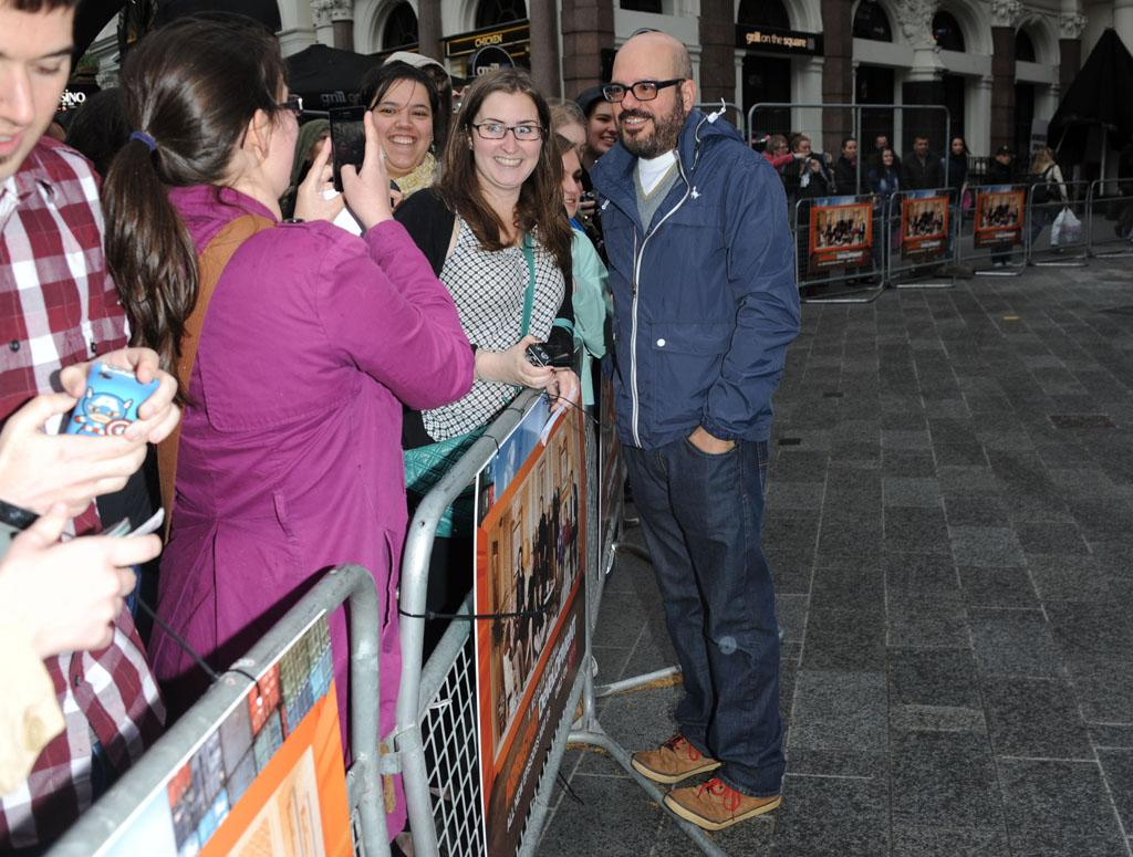 "David Cross attends the red carpet premiere for the launch of Netflix Original Series, ""Arrested Development,"" Season 4 on May 09, 2013 at Vue Leicester Square in London, England."