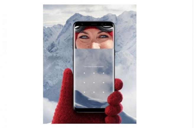 Samsung, Galaxy S8, Galaxy S8 , Iris scanner, Face recognition