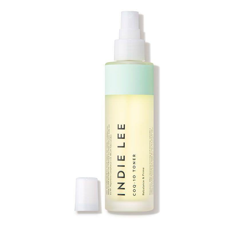 """<p><strong>Indie Lee</strong></p><p>dermstore.com</p><p><strong>$34.00</strong></p><p><a href=""""https://go.redirectingat.com?id=74968X1596630&url=https%3A%2F%2Fwww.dermstore.com%2Fproduct_CoQ10%2BToner_52985.htm&sref=https%3A%2F%2Fwww.bestproducts.com%2Fbeauty%2Fg249%2Ffacial-toners-for-every-skin-type%2F"""" rel=""""nofollow noopener"""" target=""""_blank"""" data-ylk=""""slk:Shop Now"""" class=""""link rapid-noclick-resp"""">Shop Now</a></p><p>Indie Lee is <em>the </em>clean-beauty darling that you must know about. Their cult-favorite CoQ-10 Toner is a game-changer in the eco-friendly beauty world for its hydrating, soothing, and skin-protecting properties, all thanks to a nurturing blend of aloe, chamomile, and cucumber extracts paired with star ingredient <a href=""""https://www.byrdie.com/coq10-skincare-benefits"""" rel=""""nofollow noopener"""" target=""""_blank"""" data-ylk=""""slk:CoQ-10"""" class=""""link rapid-noclick-resp"""">CoQ-10</a>. </p><p>It sounds pretty technical, but don't be thrown off: CoQ-1o is a skincare essential that's growing in popularity for its antioxidant properties that even the skin tone, boost hydration, and reduce sun damage — not so scary now, is it?</p>"""
