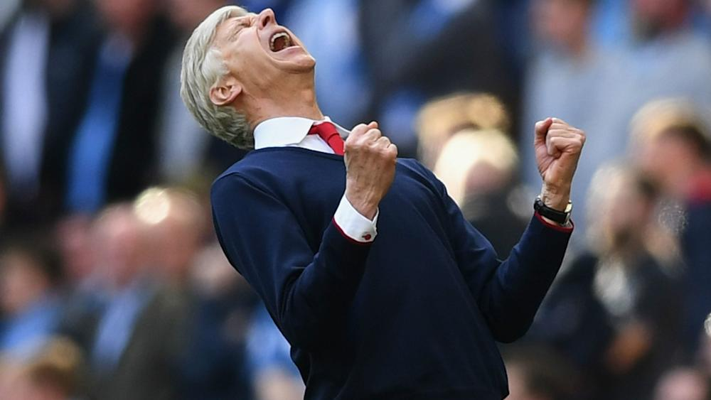 Arsene Wenger Arsenal FA Cup