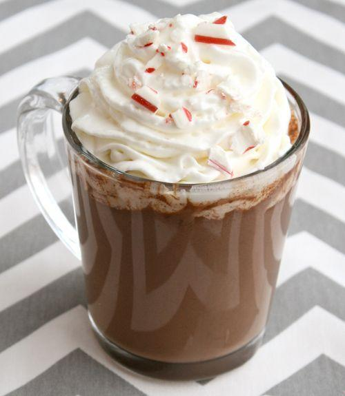 """<p>Is it dessert, or a cocktail? This yummy sweet treat is tasty enough to call it both. Just make sure you use some <a href=""""https://www.countryliving.com/food-drinks/a4266/how-to-make-whipped-cream/"""" rel=""""nofollow noopener"""" target=""""_blank"""" data-ylk=""""slk:homemade whipped cream"""" class=""""link rapid-noclick-resp"""">homemade whipped cream</a> on top!</p><p><strong><a href=""""https://www.countryliving.com/food-drinks/recipes/a34524/slow-cooker-peppermint-bark-hot-chocolate-recipe-ghk1213/"""" rel=""""nofollow noopener"""" target=""""_blank"""" data-ylk=""""slk:Get the recipe"""" class=""""link rapid-noclick-resp"""">Get the recipe</a>.</strong> </p>"""