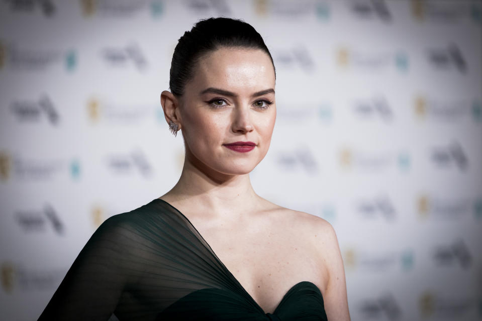 Daisy Ridley says she was called 'intimidating' while filming latest movie