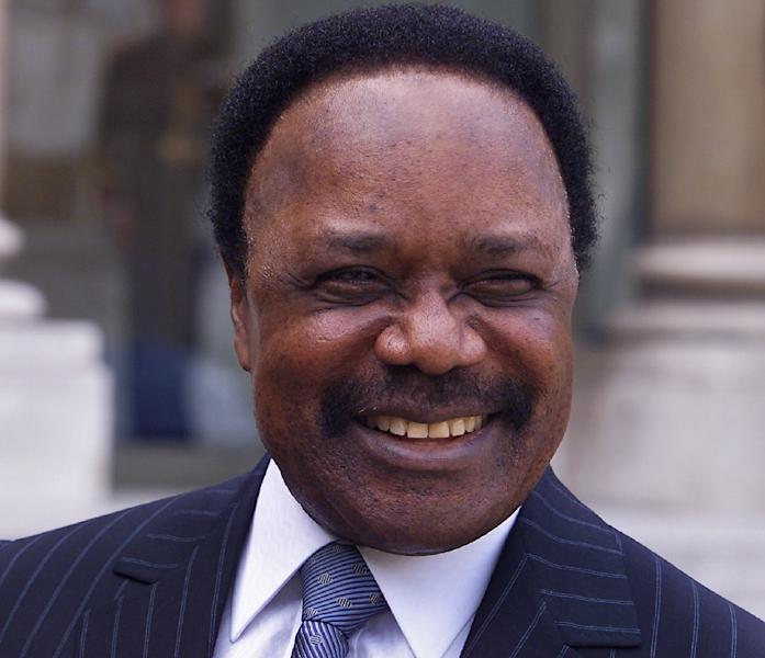 "Gabonese President Omar Bongo sought to turn the small, densely-forested nation of slightly under two million inhabitants into an ""oil emirate"" as the black gold flowed fast and freely. (AFP Photo/Georges GOBET)"