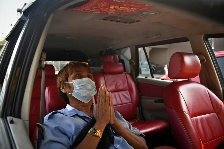 Taxi driver Wasan Sukjit says he receives rare amulets from different provinces as gifts