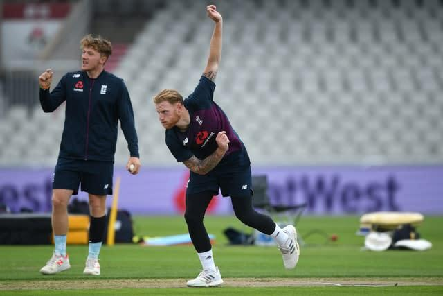Ben Stokes has been working his way back from a quad injury (Gareth Copley/Pool)