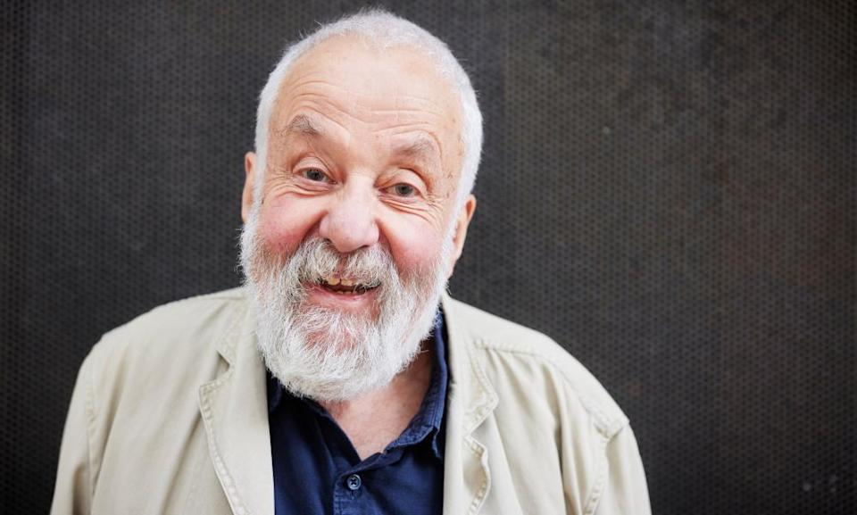 Film and theatre director Mike Leigh
