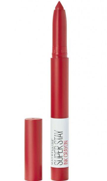 PHOTO: Try these long-lasting lipsticks to take you from mistletoe to NYE kiss. (Maybelline)