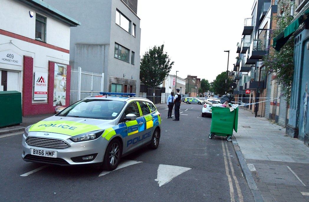 <em>The victim is in a serious but stable condition after being airlifted to hospital (PA)</em>