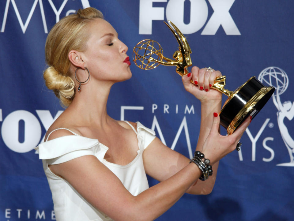 Katherine Heigl says withdrawing her name from Emmy consideration