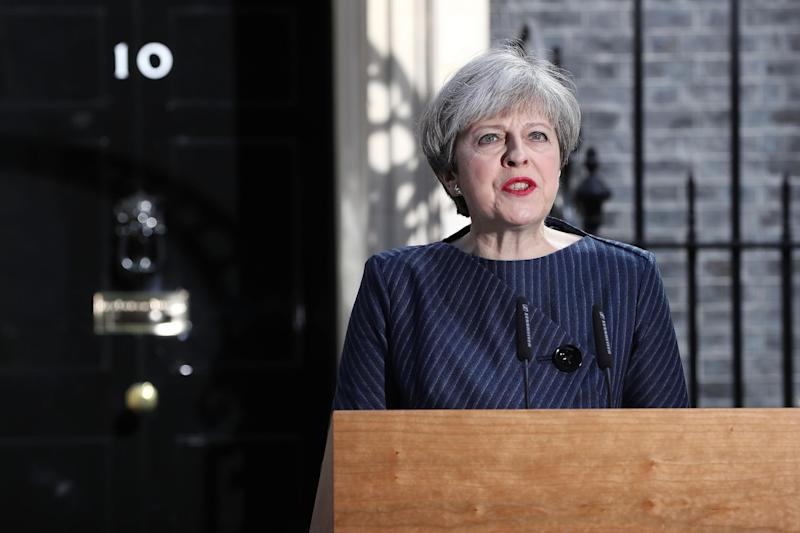 The Prime Minister said only an election would ensure both that her opponents cannot derail Brexit: Getty