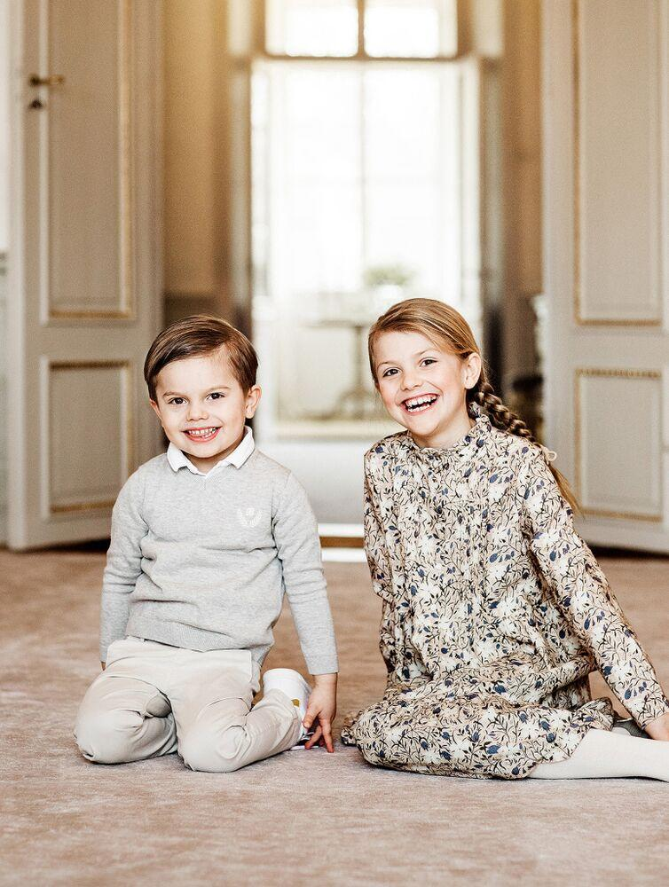 Princess Estelle and Prince Oscar | Linda Broström / Courtesy Royal Court