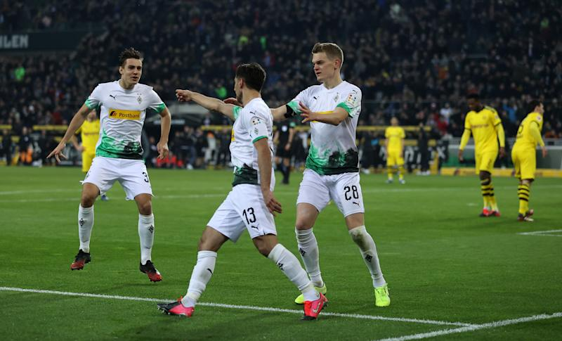 Borussia Monchengladbach could not keep up with the pace at the top.