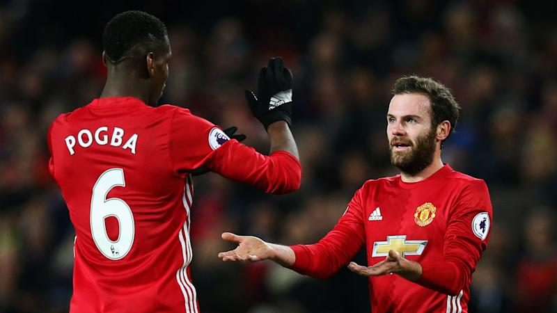 Image result for pogba and mata