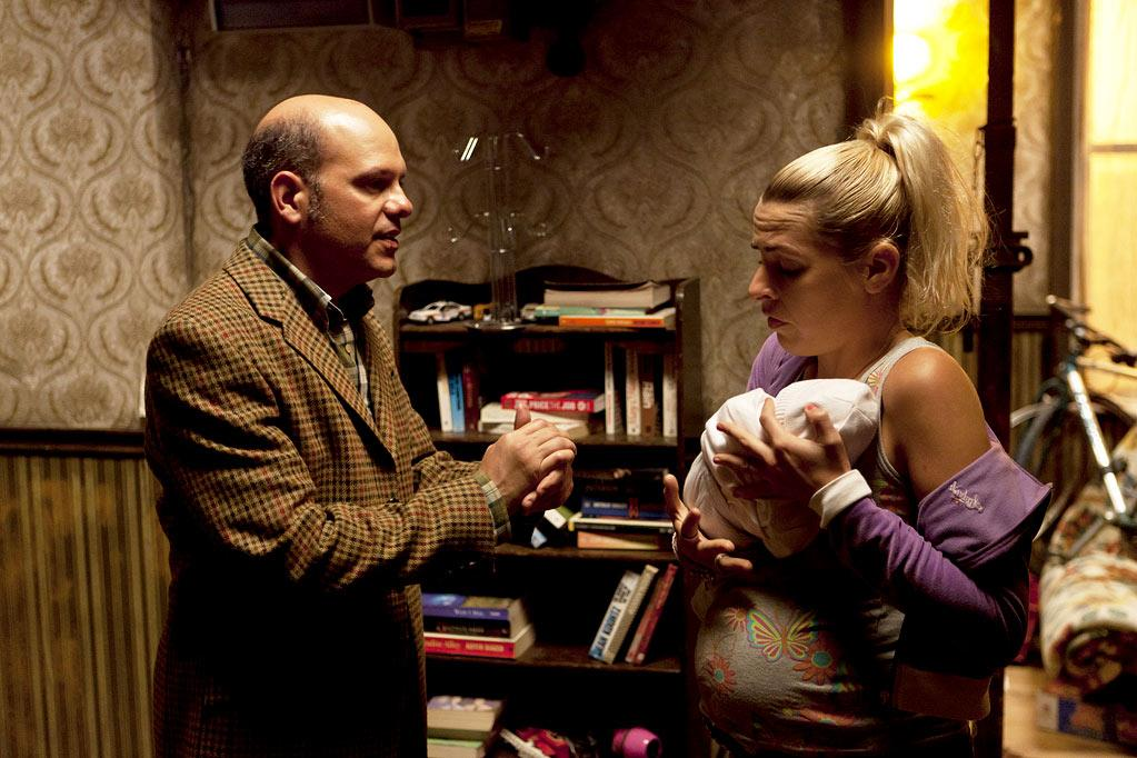 """David Cross as Todd Margaret and Sara Pascoe as Pam in """"The Increasingly Poor Decisions of Todd Margaret."""""""