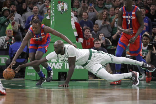 Brad Stevens hyped up the Celtics crowd prior to playing Tacko Fall