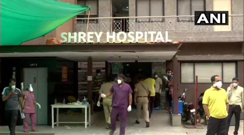 Shrey Hospital in Ahmedabad Sealed After 8 Dead in Tragic Fire Incident in Gujarat
