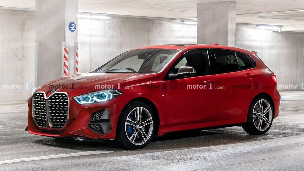 "<p>Oddly enough, the smallest BMW doesn't look the worst with the big grille. That doesn't mean we like it, however, and neither should you.</p><h2>Bigger isn't better:</h2><ul><li><a href=""https://uk.motor1.com/news/369844/bmw-concept-4-unveiled-frankfurt/?utm_campaign=yahoo-feed"">BMW Concept 4 debuts with massive double kidney grille</a></li><br><li><a href=""https://uk.motor1.com/news/371768/bmw-concept-4-grille-renderings/?utm_campaign=yahoo-feed"">Artist fixes BMW Concept 4 design in new renderings</a></li><br></ul>"