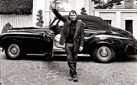 Jools Holland with his S3, which is is selling  - Credit: Aline Coquelle Photography