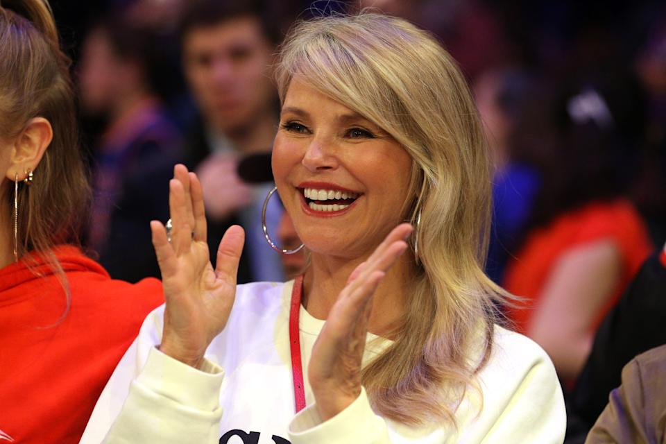 "Christie Brinkley called getting her actual COVID-19 shot a ""piece of cake."" (Photo: Brad Penner-USA TODAY Sports)"