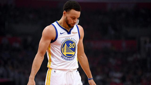 The Golden State Warriors can expect to have Stephen Curry available when they meet the Houston Rockets in the semi-finals.