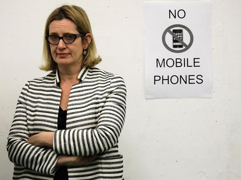 Home Secretary Amber Rudd has announced a crackdown on extremist material: REUTERS