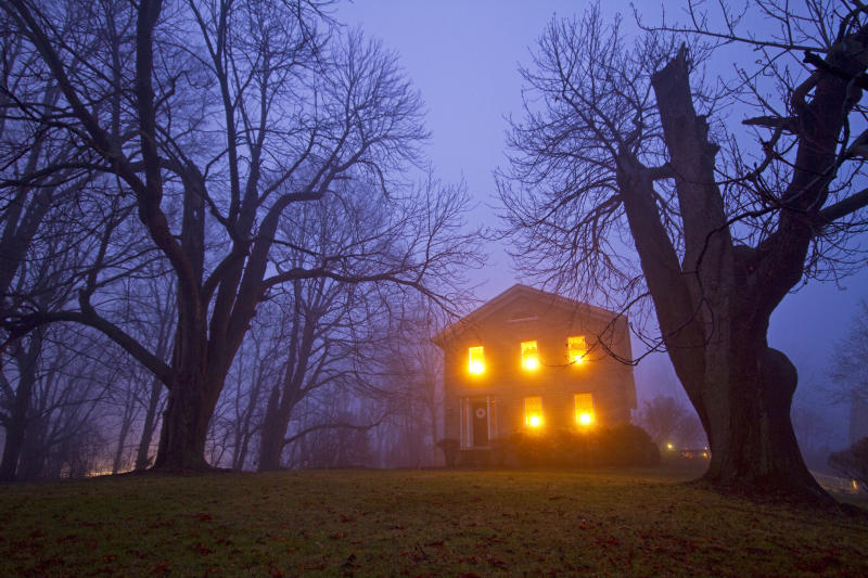 This man will pay you $29,000 to complete his haunted house. Source: Getty