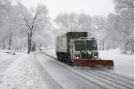 "<p>We often take for granted our city or town snowplows. The first <a href=""https://www.citylab.com/life/2012/01/how-we-plowed-plows-were-invented/1055/"" rel=""nofollow noopener"" target=""_blank"" data-ylk=""slk:patented snowplow"" class=""link rapid-noclick-resp"">patented snowplow</a> was used in Milwaukee, Wisconsin, in 1862. The plow was attached to a horse-drawn cart. Soon after, several other cities began to catch on to this nifty snow removal process. Eventually, this evolved into electric trolleys, and finally, automobile plows in the early 20th century.</p>"