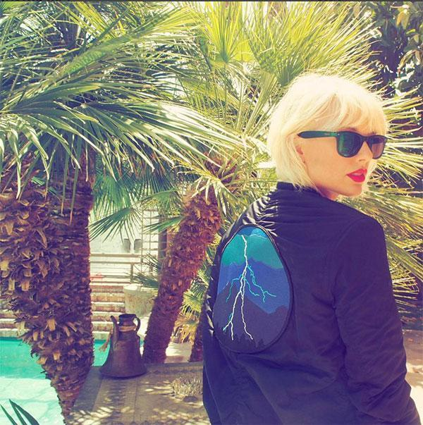 <br>Debuting on the cover of a magazine with bleached blonde hair this week we assumed it was just for the photoshoot, however Tay just stepped out at Coachella and she's still rocking the edgy do.