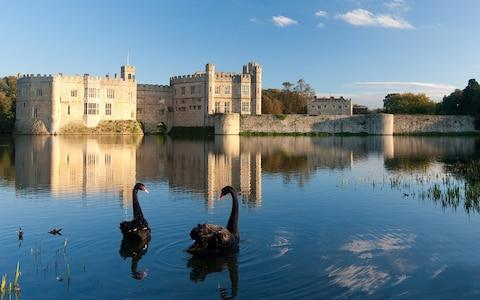 Leeds Castle, Kent, was once used by Henry VIII and his first wife Catherine of Aragon. - Credit: William Bray