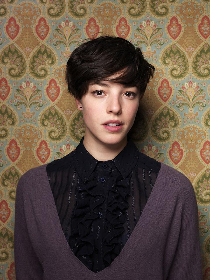 "<strong> </strong>Olivia Thirlby from the film ""Nobody Walks,"" poses for a  portrait during the 2012 Sundance Film Festival on Monday, Jan. 23, 2012  in Park City, Utah."
