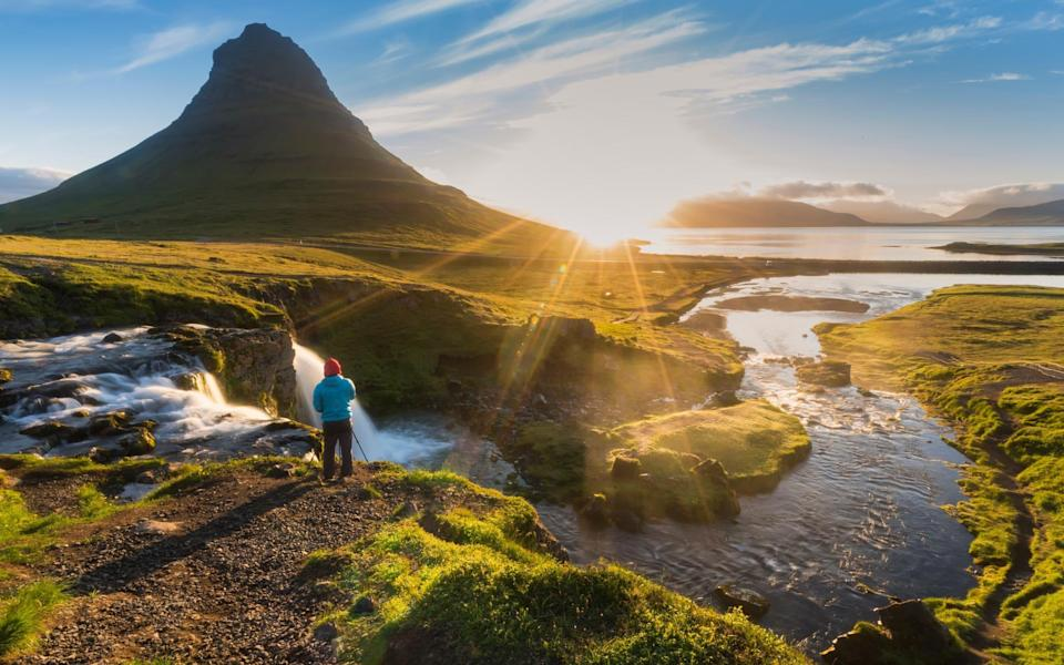 Iceland is a contender for opening up to vaccinated UK arrivals this summer - Getty
