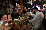 In Paris, 'almost' foolproof Harry's Bar votes Hillary