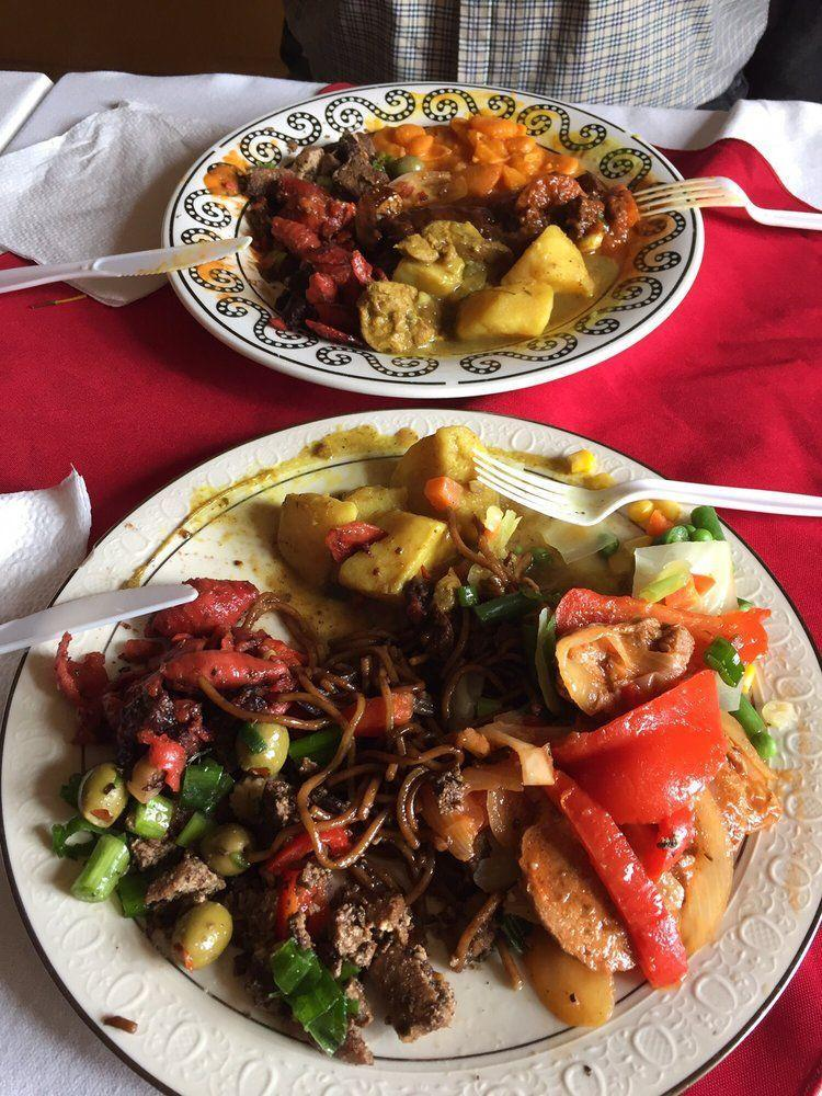 "<p><a href=""https://www.yelp.com/biz/shandals-vegetarian-cafe-bridgeport"" rel=""nofollow noopener"" target=""_blank"" data-ylk=""slk:Shandal's Vegetarian Cafe"" class=""link rapid-noclick-resp"">Shandal's Vegetarian Cafe</a> in Bridgeport</p><p>""This place is awesome. I am a foodie but in no way vegetarian or vegan.<span class=""redactor-invisible-space""> I have eaten at a lot trendy vegetarian places and this place beats them all. Clearly the food is made with love.<span class=""redactor-invisible-space"">"" - Yelp user <a href=""https://www.yelp.com/user_details?userid=84XmSMuTa2PwEp0jUnd_ng"" rel=""nofollow noopener"" target=""_blank"" data-ylk=""slk:Ken F."" class=""link rapid-noclick-resp"">Ken F.</a></span></span></p>"