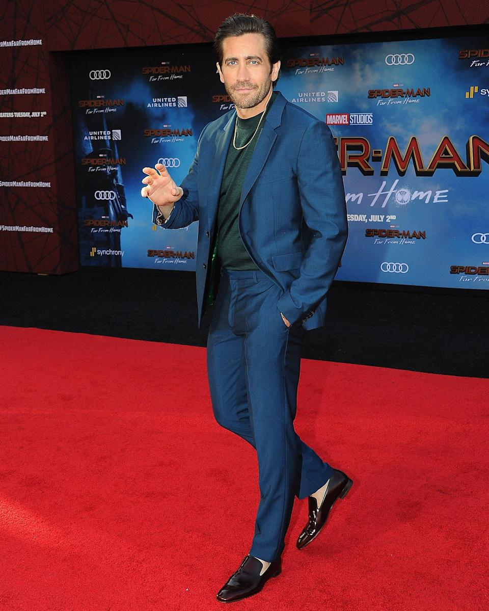 """<h1 class=""""title"""">June 27: Jake Gyllenhaal</h1> <div class=""""caption""""> We support Jake Gyllenhaal's formal chain. </div> <cite class=""""credit"""">Getty Images</cite>"""