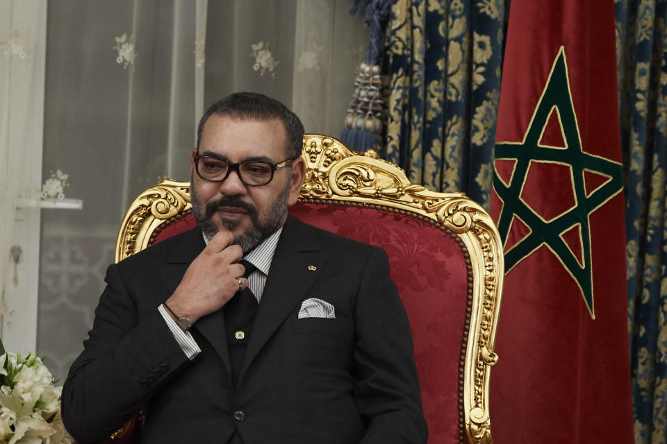 King Mohammed VI of Morocco.  (Photo by Carlos R. Alvarez / WireImage)
