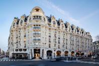 """<p>Soak up the city's artistic history in <a href=""""https://www.booking.com/hotel/fr/lutetia-paris12.en-gb.html?aid=1922306&label=paris-hotels"""" rel=""""nofollow noopener"""" target=""""_blank"""" data-ylk=""""slk:Hotel Lutetia"""" class=""""link rapid-noclick-resp"""">Hotel Lutetia</a>'s smart, colourful bars, classic library and elegant hallways. The grand building, which has housed the hotel since 1910, reflects the period shift from art nouveau to art deco. It's a landmark of luxury and offers treatments from leading therapists in the marble-pillared spa. </p><p>It's no surprise then that hotel has welcomed its fair share of influential residents over the years - James Joyce wrote Ulysses at the hotel in the company of Ernest Hemingway, and Samuel Beckett, Saint-Exupéry, Picasso and Matisse took up residence soon after. </p><p><a class=""""link rapid-noclick-resp"""" href=""""https://www.booking.com/hotel/fr/lutetia-paris12.en-gb.html?aid=1922306&label=paris-hotels"""" rel=""""nofollow noopener"""" target=""""_blank"""" data-ylk=""""slk:CHECK AVAILABILITY"""">CHECK AVAILABILITY</a></p>"""