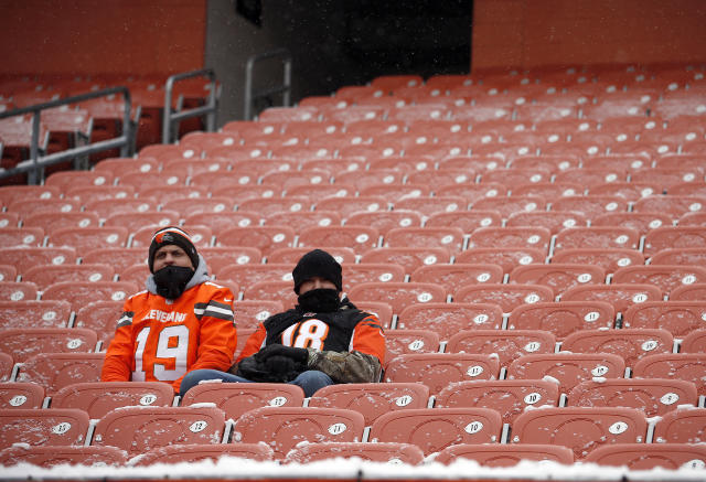 There are plenty of cheap tickets available in Cleveland on Sunday, any takers? (Getty Images)