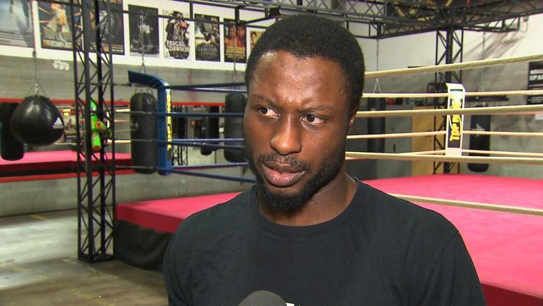 Boxer Custio Clayton says he was racially profiled by Montreal police