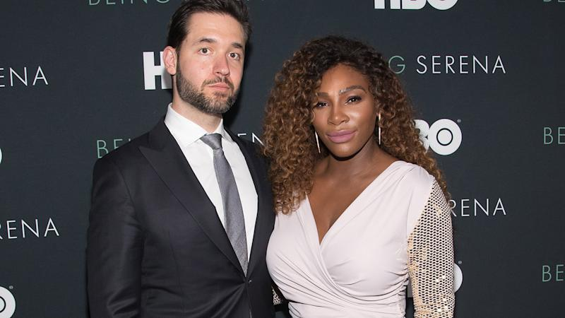 Serena Williams and Alexis Ohanian, pictured here in New York in 2018.