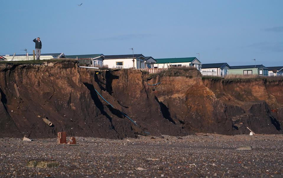 Councillors are set to discuss the devastating effect of erosion (Picture: PA)