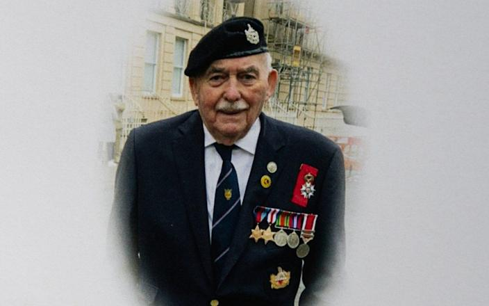 John Cornwell, who at 17 was the the youngest survivor of Operation Overlord  -  SWNS