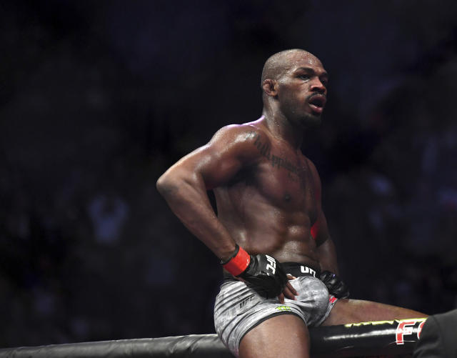 Jon Jones won't be punished despite 33 picograms of a steroid metabolite being found in his system. (AP Photo/Kyusung Gong)