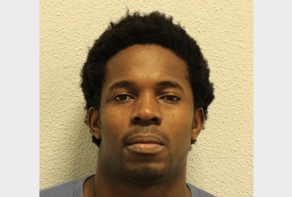 Sola Austin Warikwah raped a woman in a car park he was meant to be patrolling as a security guard. (Met Police)