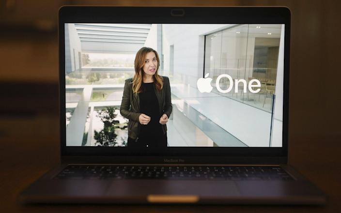 Apple unveiled an Apple One subscription service on Tuesday - Bloomberg