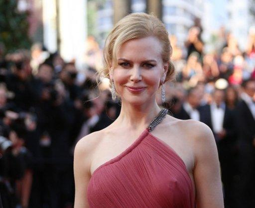 """Australian actress Nicole Kidman arrives for the screening of """"The Paperboy"""""""