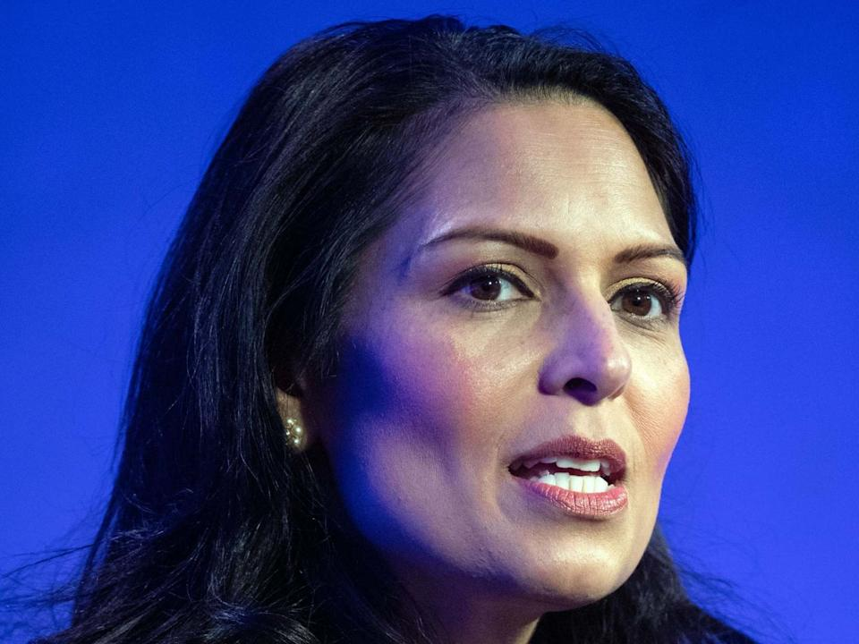 Priti Patel set out the government's post-Brexit points-based immigration system on Monday 13 July: PA