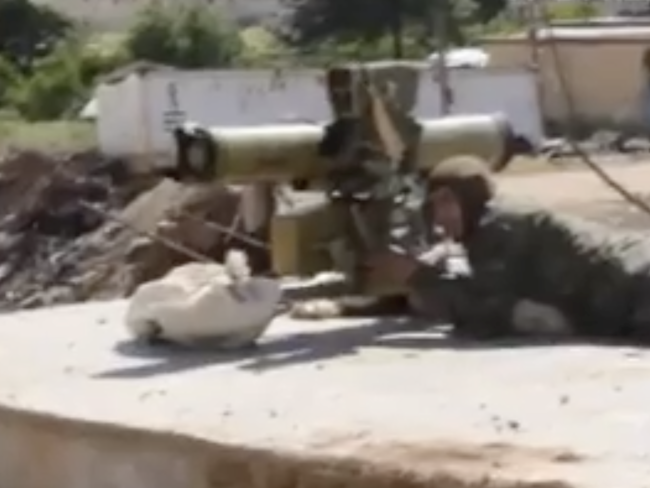 YPG firing at Turkey Syria